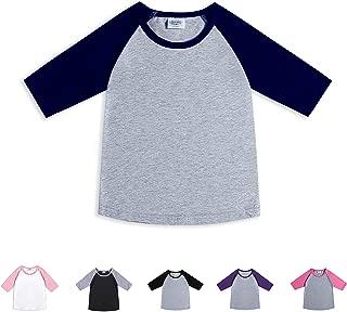 CREATOR Toddler Baby Girls Boys 3/4 Sleeve Shirts Raglan Shirt Baseball Tee Cotton T-Shirt