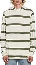 Volcom Men's Shaneo Stripey Long Sleeve Hooded Shirt