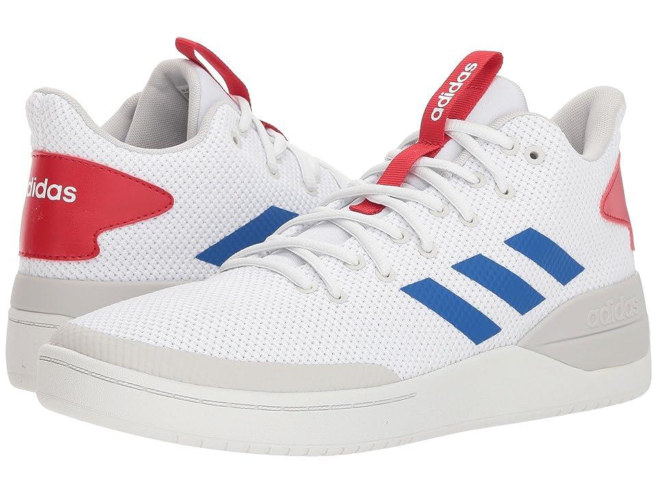adidas Basketball 80s (White/Blue/Scarlet) Men