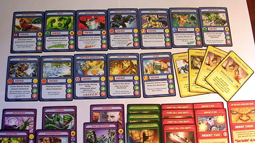 Marvel Super Heroes Collector's Club Trading Card Game--Pack #1