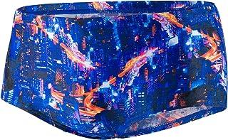 Speedo Men's Vortex Swirl Allover Digital 14cm Brief