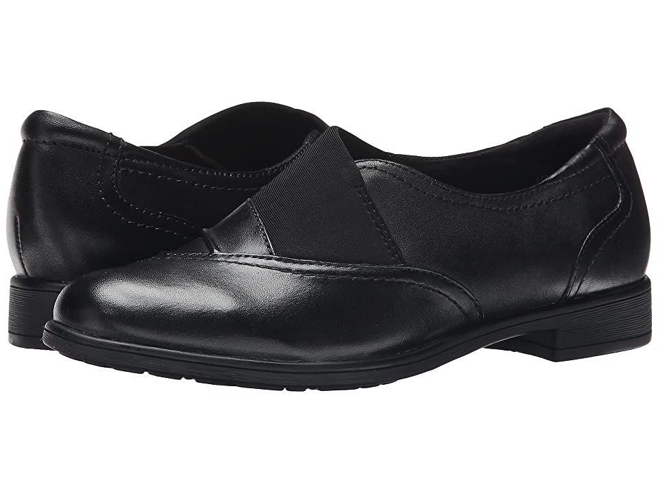 Earth Stratton (Black Calf Leather) Women
