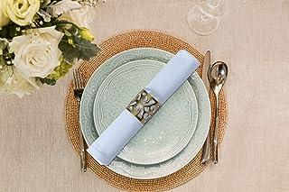 UMI By Amazon Cloth Lot de 12 serviettes de table en coton ultra luxueuses, douces et de qualité hôtelière, parfaites pour...