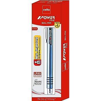 Cello Power Ball Pen - Pack of 10 (Blue)