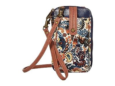 Sakroots Artist Circle Smartphone Wristlet (Clay Enchanted Forest) Wristlet Handbags