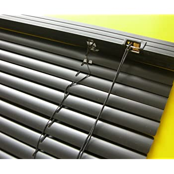 Aluminium Jalousie Alu Jalousette Rollo Fensterjalousie Höhe 50 cm schwarz