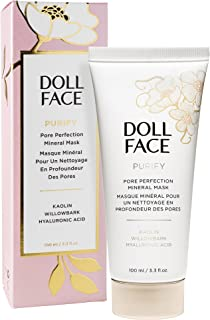 Doll Face Beauty Purify Pore Perfecting Mineral Mask, 3.3 Ounce