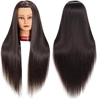 "Training Head 26""-28"" Mannequin Head Hair Styling Manikin Cosmetology Doll Head.."