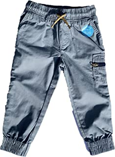 Carter's Pull-On Baby Boy Gray Cargo Pants - Sizes: 9 12 18 & 24 Months