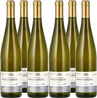 Weingut Mees KANZLER EDELSÜSS SÜSS Auslese Prämiert 2018 Weißwein Wein Deutschland Nahe Paket 6 x 750 ml 100% Kanzlerrebe