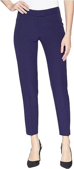 Slim Leg Crepe Pants
