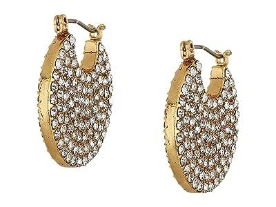 J.Crew Celest Pave Disc Earrings (Crystal) Earring