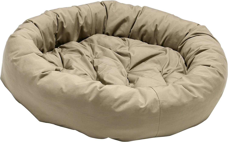 Dog Gone Smart Donut Pet Bed (Large) (Khaki)