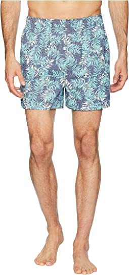 Island Washed Cotton Woven Boxer Shorts