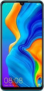 Huawei P30 Lite Dual Sim - 128 GB, 6 GB Ram, 4G LTE, Peacock Blue, Mar-Lx1A