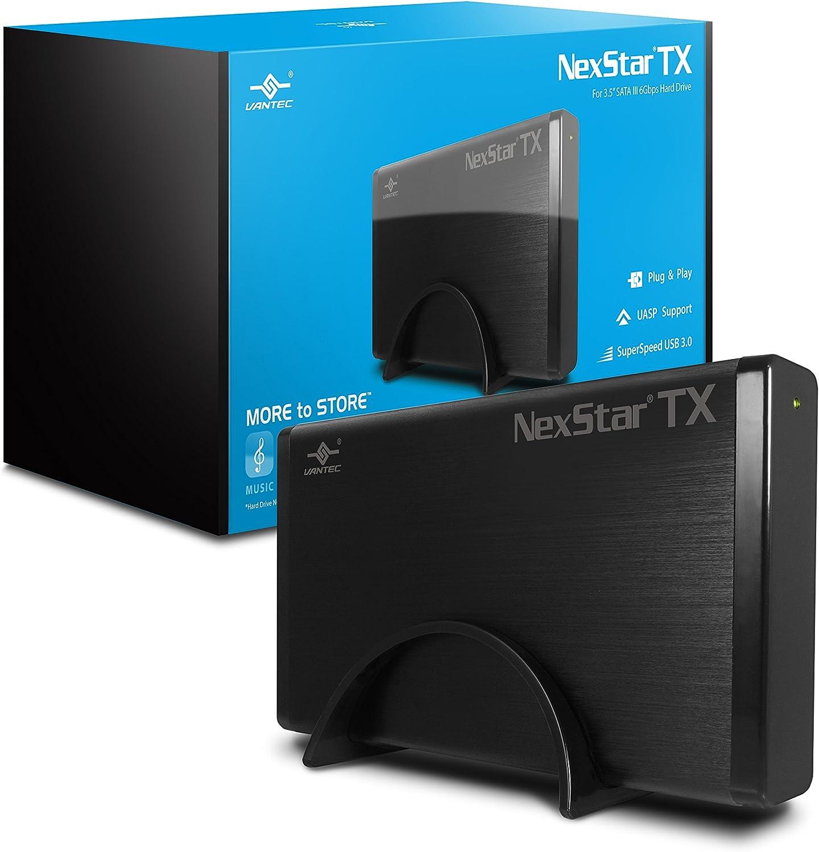 """Vantec NexStar TX 3.5"""" USB 3.0 Hard Drive Enclosure (NST-328S3-BK ): Computers & Accessories"""