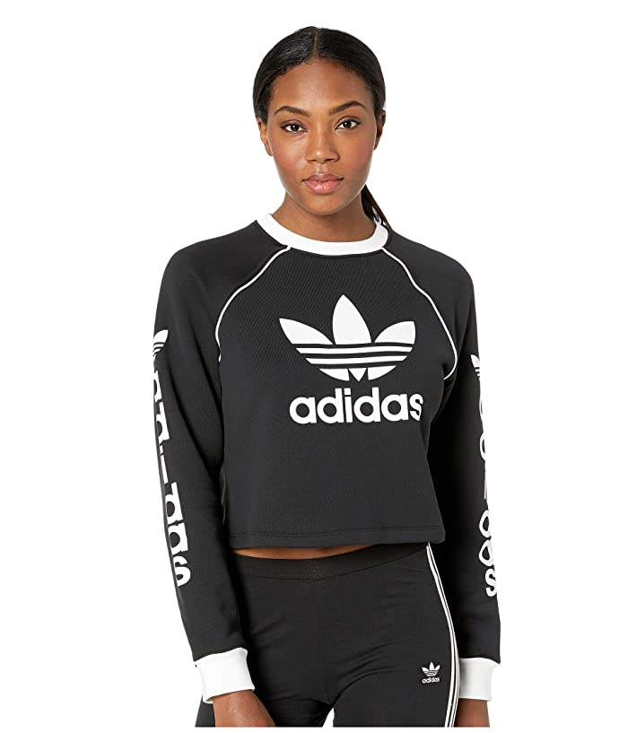 df8be343e30 adidas Originals Trefoil Sweater at 6pm