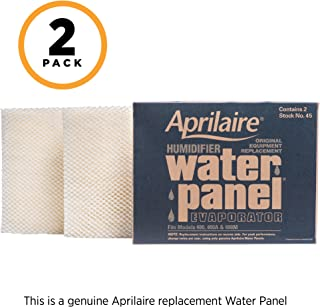 aprilaire humidifier 600 water panel