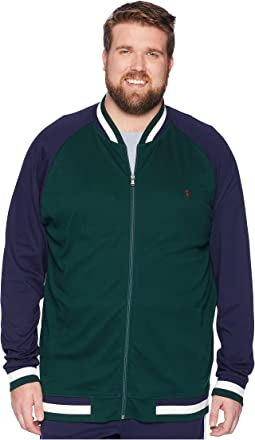 Big & Tall Interlock Bomber Jacket