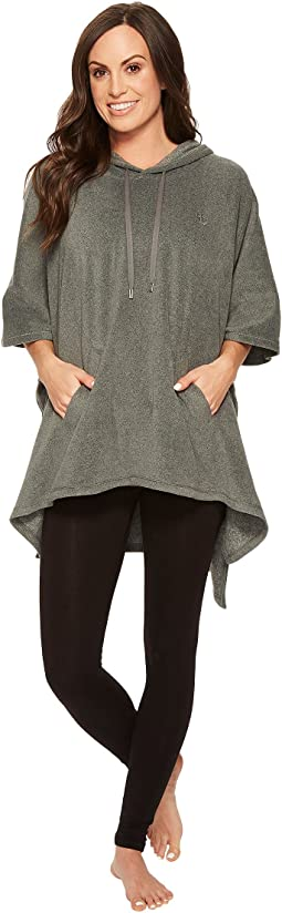 LAUREN Ralph Lauren - Soft Stretch Microfleece Hooded Poncho