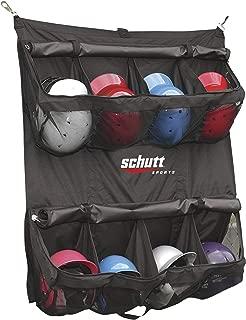 Schutt Hanging Batter's Helmet Bag (Black, 55-Lenght x 41-Width-Inch)
