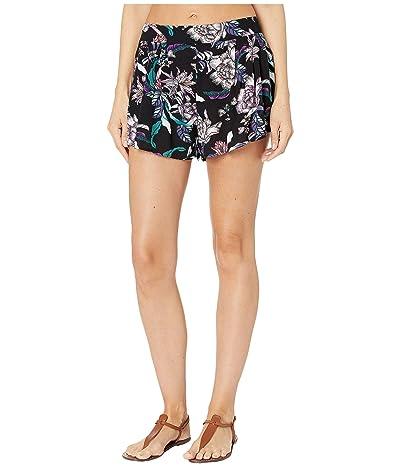 Body Glove Amber Shorts (Black/Sea Vew Print) Women