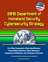 2018 Department of Homeland Security Cybersecurity Strategy - Five Pillar Framework of Risk Identification, Vulnerability Reduction, Threat Reduction, Consequence Mitigation, and Cyberspace Outcomes