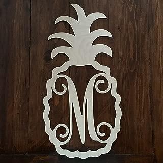 Best pineapple monogram door hanger Reviews