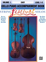 String Festival Solos, Vol 1: Cello Piano Acc.
