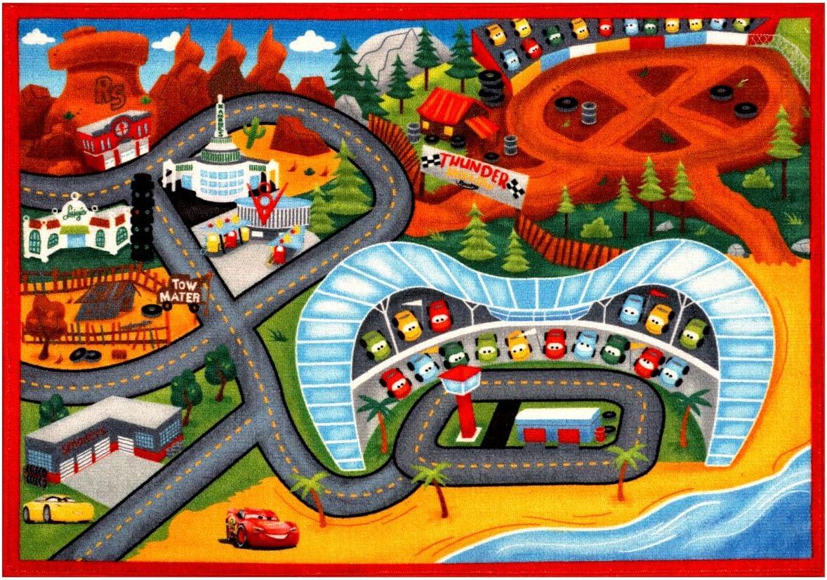 Gertmenian: Disney Cars 3 Play Rug 2017 HD Digital Cars3 Kids Road Rugs Bedding Playmat 54x78 inch, Large