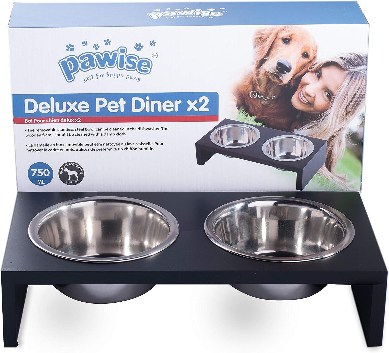 emelkedett single dog feeder