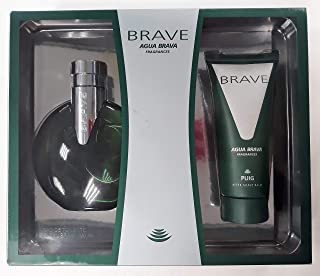 Agua Brava Brave Eau de Toilette 100 ml Spray + After Shave Bálsamo 100 ml