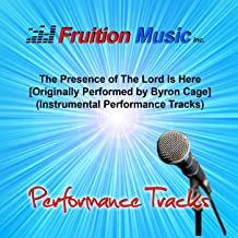 the presence of the lord is here instrumental