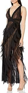 Women's Ruffled Lace Gown