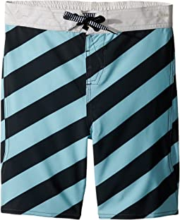 Volcom Kids Stripey Elastic Boardshorts (Toddler/Little Kids)