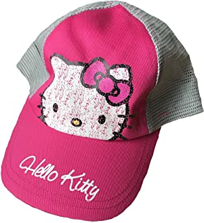a6c7599d6 BWR Hello Kitty Child's Baseball Cap 4-8 Years Pink/Gray