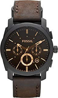 Fossil Men's Machine Analog Analog-quartz Brown Watch, (FS4656)
