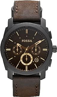 Fossil Men's Machine Analog Analog-quartz Brown Watch, (FS4656)