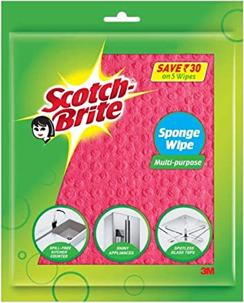 Scotch-Brite Sponge Wipe (5 Pcs)