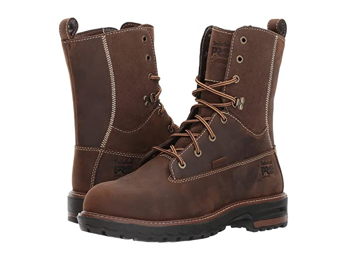 Timberland PRO  Hightower 8 Alloy Safety Toe Waterproof (Kaffe Full Grain Leather) Womens Work Lace-up Boots