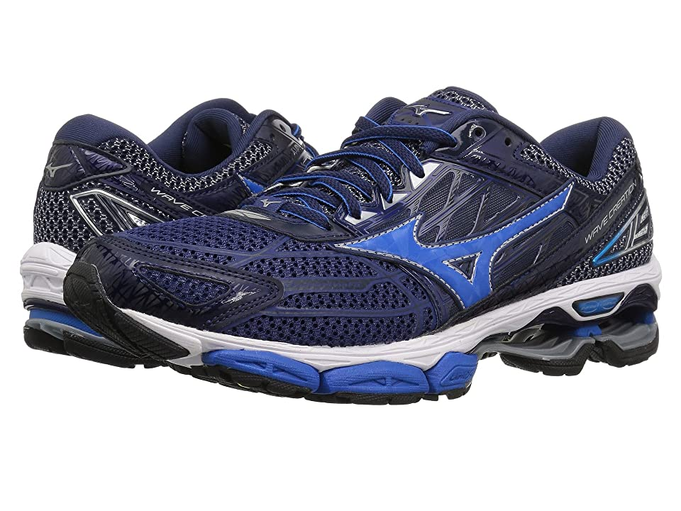 Mizuno Wave Creation 19 (Blue Depths/Peacoat) Boys Shoes