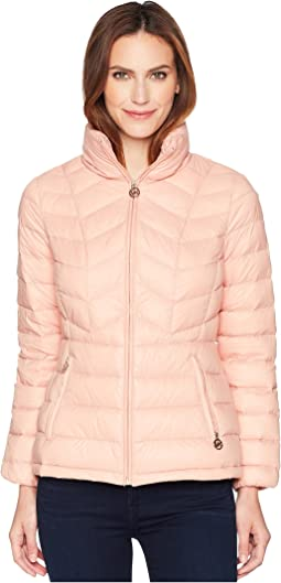 MICHAEL Michael Kors Short Quilted Packable Down
