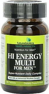 Futurebiotics Hi Energy Multi For Men, 60 Vegetarian Tablets