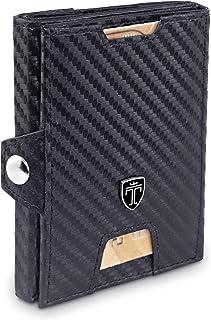 Slim Wallet for Men - Mens Money Clip Minimalist Wallet - RFID Credit Card Holder for Man - Mini Front Pocket Wallet