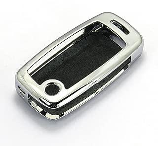 Rpkey Metal Keyless Entry Remote Control Key Fob Cover Case protector For Audi A2 A3 A4 A6 A8 S4 S6 S8 TT Quattro Volkswagen Beetle Golf Jetta Passat HLO1J0959753F HLO1J0959753AM 4D0837231E