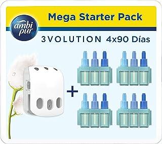 Ambi Pur 3Volution Mega Starter Pack Nubes de Algodón