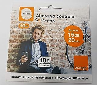 Tarjeta SIM Orange - Tarifa Go Walk - 10€ de saldo