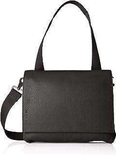 Mandarina Duck Damen Mellow Leather Tracolla/Nero Umhängetasche, 21x15x6.0999998999999994 Centimeters (W x H x L)