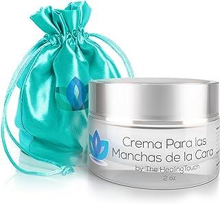 Crema Para Las Manchas de La Cara: Elimina las Manchas Obscuras del Acne, el Sol, Edad, y Arrugas. Embellece tu Rostro con este Humectante Facial Antiarrugas (2 oz)