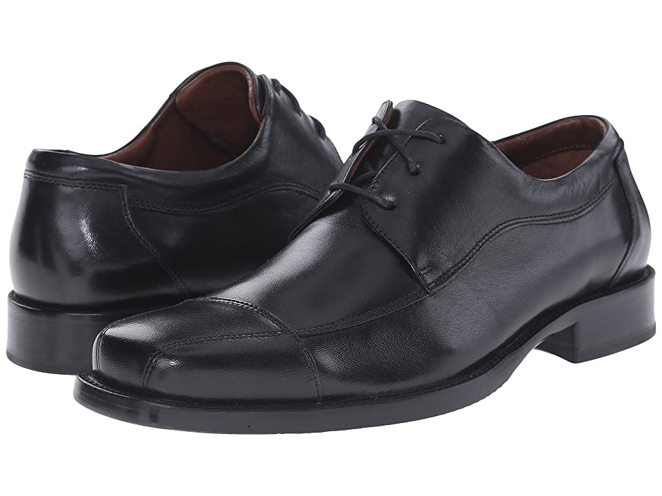 Johnston & Murphy Dobson Cap Lace Up (Black) Men